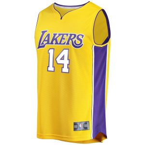 Brandon Ingram Los Angeles Lakers Fanatics Branded Fast Break Replica Jersey Gold – Icon Edition