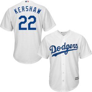 Clayton Kershaw LA Dodgers Jersey – White