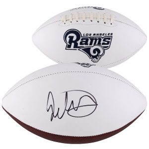 Fanatics Authentic Todd Gurley Los Angeles Rams Autographed White Panel Football