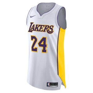 Kobe Bryant Los Angeles Lakers Nike Authentic Jersey White – Association Edition