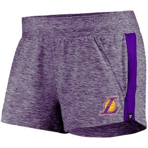 Lakers Heathered Purple Made to Move Shorts