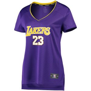 LeBron James Los Angeles Lakers Fanatics Branded Women's 2017/18 Fast Break