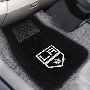 Los Angeles Kings 2-Piece Embroidered Car Mat Set