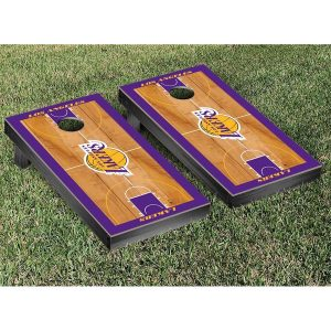 Los Angeles Lakers Court Cornhole Set