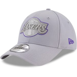Los Angeles Lakers New Era 9FORTY Adjustable Hat – Gray