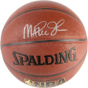 Magic Johnson Los Angeles Lakers Fanatics Authentic Autographed Spalding Indoor Outdoor Basketball with Silver Ink