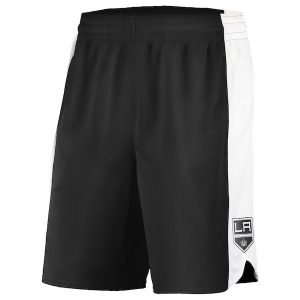 Men's Los Angeles Kings Fanatics Branded Black/White Replica Shorts
