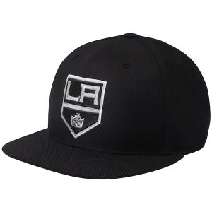 Men's Los Angeles Kings adidas Black Basic Fitted Hat