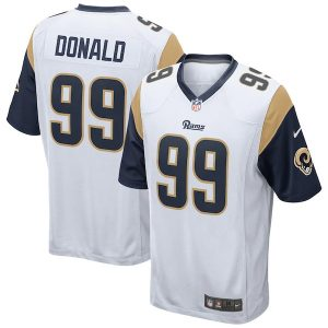 Nike Aaron Donald Los Angeles Rams White Game Jersey