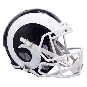 Riddell Los Angeles Rams Revolution Speed Full-Size Replica Football Helmet