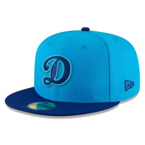 Men's Los Angeles Dodgers New Era Blue/Navy 2018 Players Weekend On-Field 59FIFTY Fitted Hat