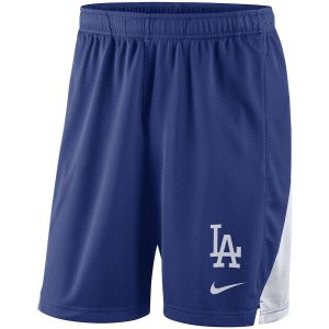 Men's Los Angeles Dodgers Nike Royal Franchise Performance Shorts